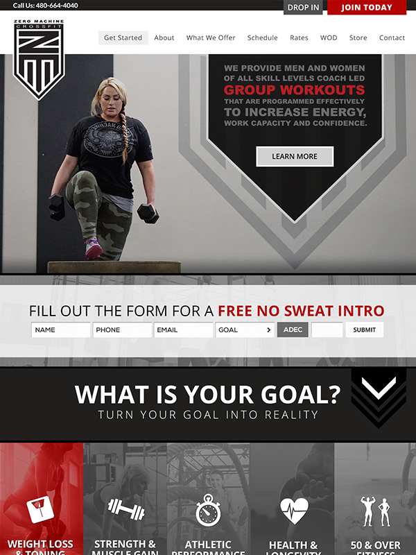 Black Label Fitness Website Design And Fitness Gym Instagram Marketing