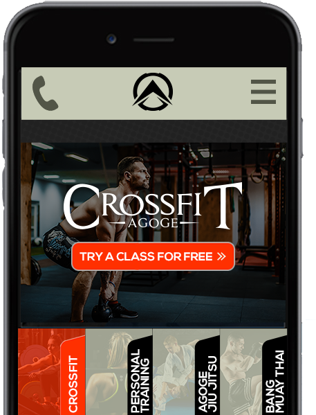Fitness Gym Mobile Website Design, Gym Facebook Ads And Training Studio Instagram Marketing