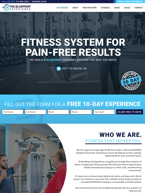 Top 5 Best Fitness Gym Website Designs