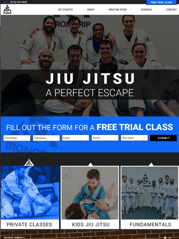 Top Karate And Jiu Jitsu Website Design And Social Media Marketing