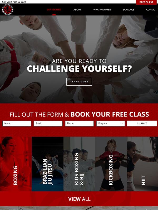 Top 10 Best Mix Martial Arts Website Design And Lead Generation Tools